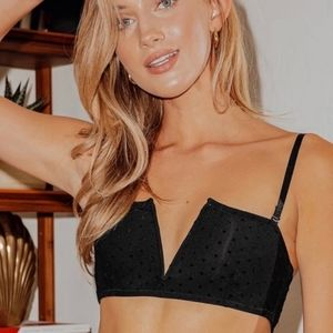 🤩New with tags free people seira Bandeau sizes extra small/ medium